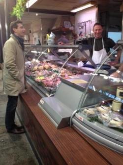 Sur le terrain, marché d'Aligre