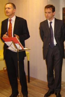 Avec François Zocchetto, Président du Groupe Union