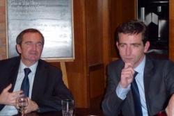 Stéphane Demilly, Député et Benoît Pernin