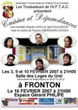 """Saison 2006/2007 : """"Cuisine et Dépendances"""""""