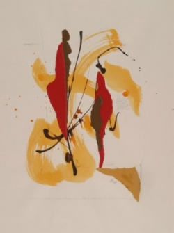 Maxime 5, encre et collage sur papier, 2006