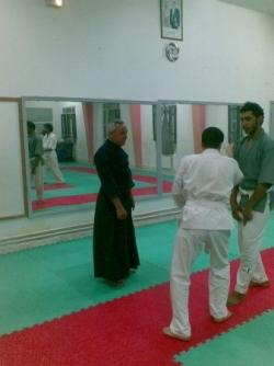 cours aikido avec mr ezzedine toumi