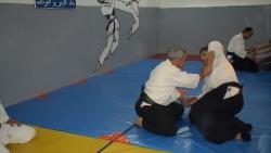cours aikido avec mr ezzedine toumi à el menzah (