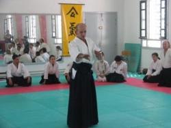 Nebi vural sensei stage aikido sousse avril 2008