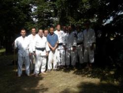 photo groupe avec nos amis aikidokas de Bursa