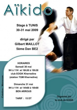 stage aikido gilbert maillot tunisie