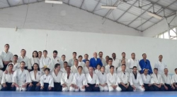 Stage aikido a Tunis avec Nebi Vural sensei