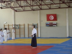Stage aikido avec federation tunisienne