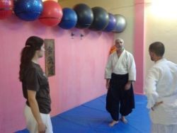 cours aikido avec mr turki