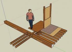 Vue 3D du plancher de l'étage