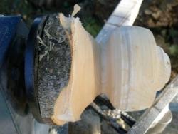 On vérifie que le bois n'as pas de défauts
