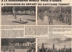 """Le Capitaine TONNOT dit """"Adieu aux Armes"""""""