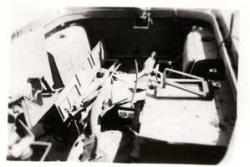 L'intérieur de l'AML après explosion de la mine