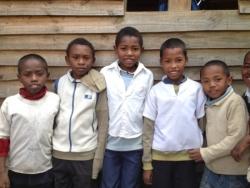 Les enfants au centre
