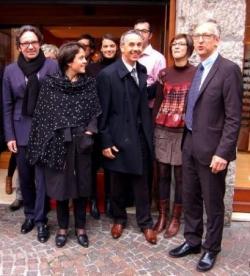 Avec Frédéric LEFEBVRE, Jean-Luc RIGAUT et des Ann