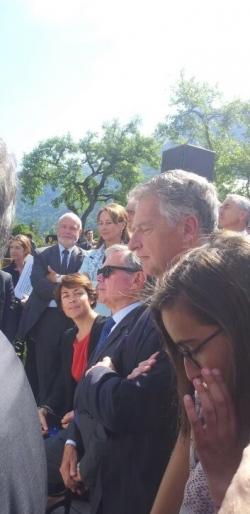 Visite présidentielle parc des bauges 15