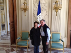 Avec Bernard ACCOYER