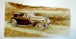 Salmson faux-cabriolet S461 1939
