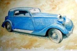 Salmson S4D 1935 coach