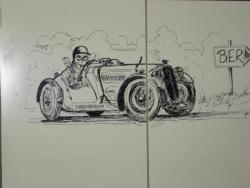 Comment dessiner un sportscar sur une armoire