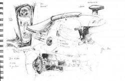 Aston martin n°008 détails