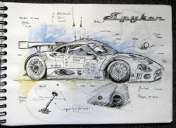 Spyker GT 1 Lm 2009