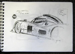 Croquis 24 heures LM 2009