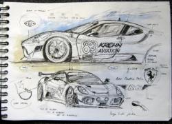 Ferrari GT2 LM 2009