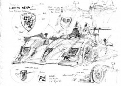 Croquis 24H LM 2011