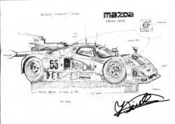 Mazda 787 b 1ère LM 1991