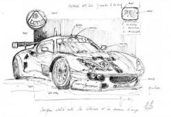 Lotus Evora croquis pesage LM 2011
