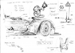 Hope Racing Hybride croquis pesage LM 2011