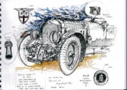 Bentley supercharged 1930