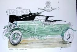 Lagonda tourer - vendredi 17 juin