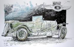 Bentley replica LM 1925 - dimanche 19 juin 2005