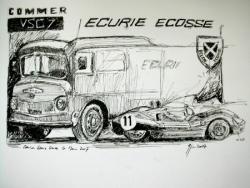 Camion Ecurie Ecosse Le Mans Legend 2007