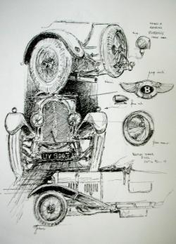 Bentley tourer 3 litres