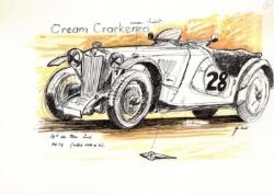 MG Prewar Le Mans Legend 2006