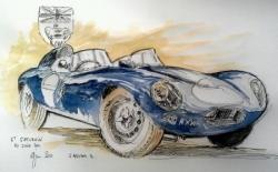 Jaguar D replica St Sat 2011