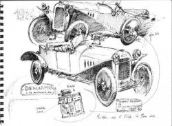 Benjamin cyclecar 1924