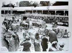 Départ Bol d'Or 1921