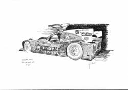 Nissan LMP1 n°23