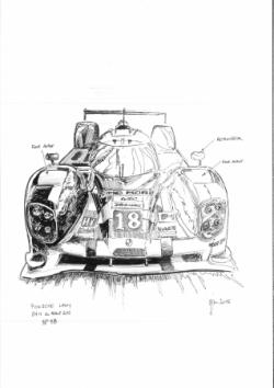 Porsche LMP1 n°18