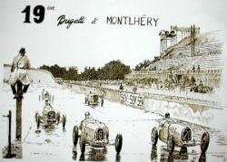 Bugatti à Monthléry