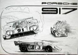 Porsche 917...uen vieillerie retrouvée
