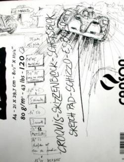 Départ 24 heures 2008 (détail)