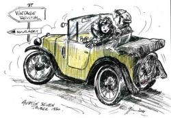 Austin 7 tourer 1930 VRM 2011