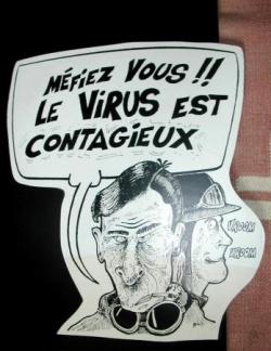 Le virus est contagieux