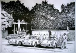 Corvette Jacobins Le Mans 1960