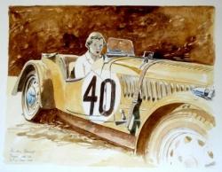 Prudence Fawcett Morgan Le Mans 1938